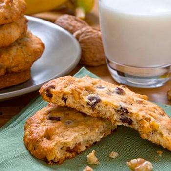 galletas-de-platano-y-nueces