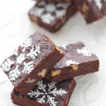 brownie-navideno-de-nueces