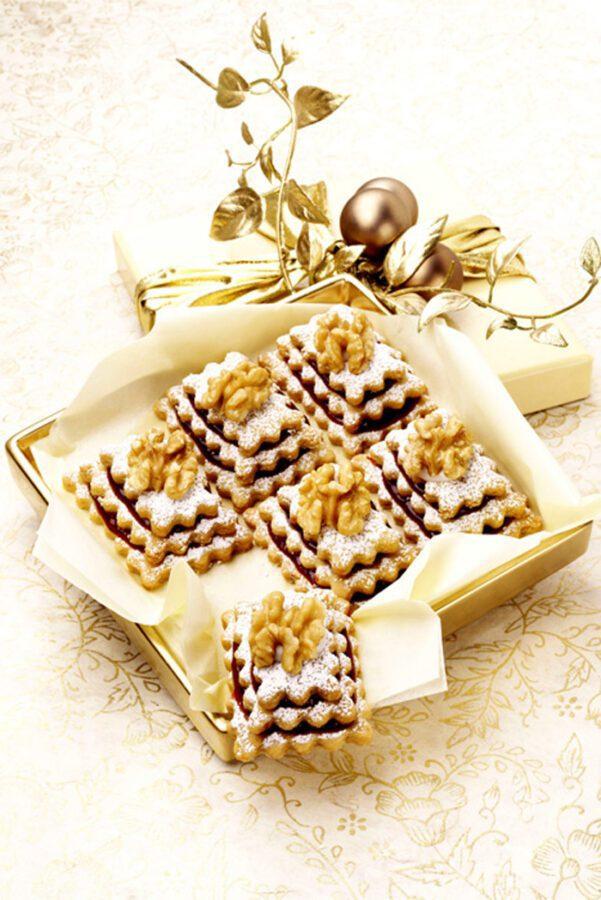 Delicias de galleta y nuez