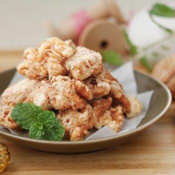Nueces caramelizadas al estilo chino