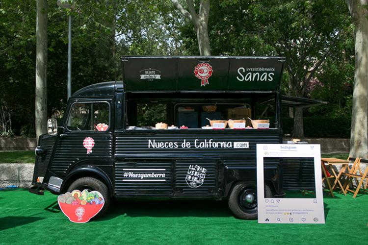 El food truck de Nueces de California presenta las nuevas recetas on the go