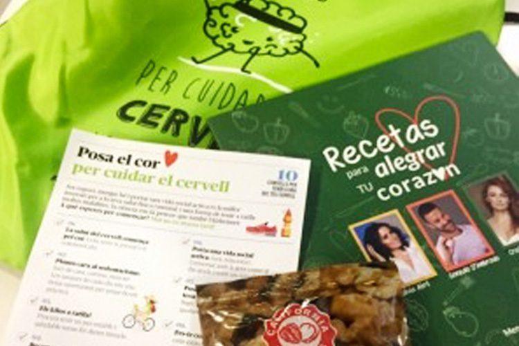 Nueces de California colabora con la Fundación Pasqual Maragall en el Día Internacional de la Gente Mayor