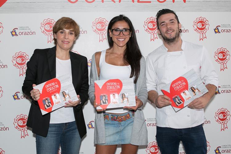 """""""Entrena tu corazón"""" con Anabel Alonso, Carlos Maldonado y Amaya Fitness"""