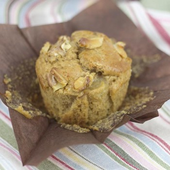 Muffins de nueces y yogur