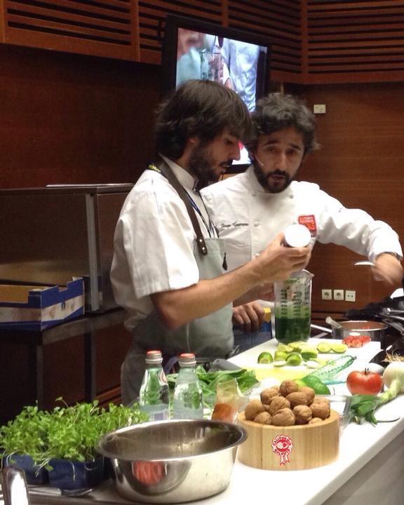 Diego Guerrero en San Sebastián Gastronomika