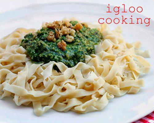 Igloo cooking