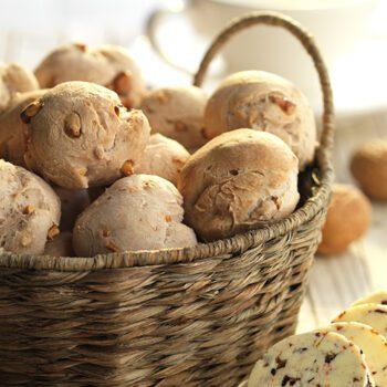 Pan casero de nueces