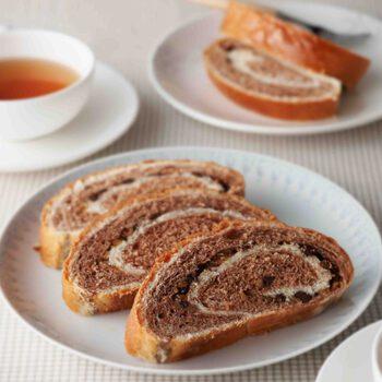 Pan de nueces y cacao