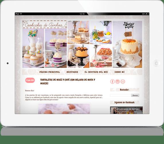 iPad Cookcakes de Ainhoa