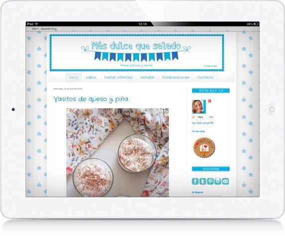 iPad Más dulce que salado