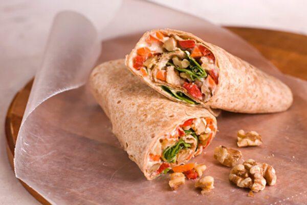 wraps-vegetarianos-con-hummus