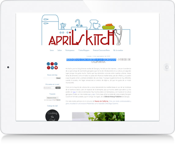 Blog: April's Kitch