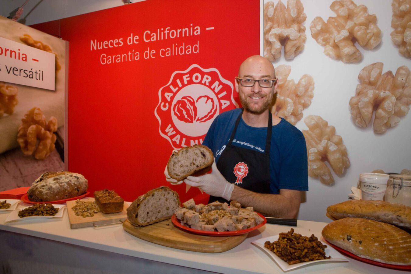 Nueces de California promueve la innovación en la industria de la panadería y la pastelería