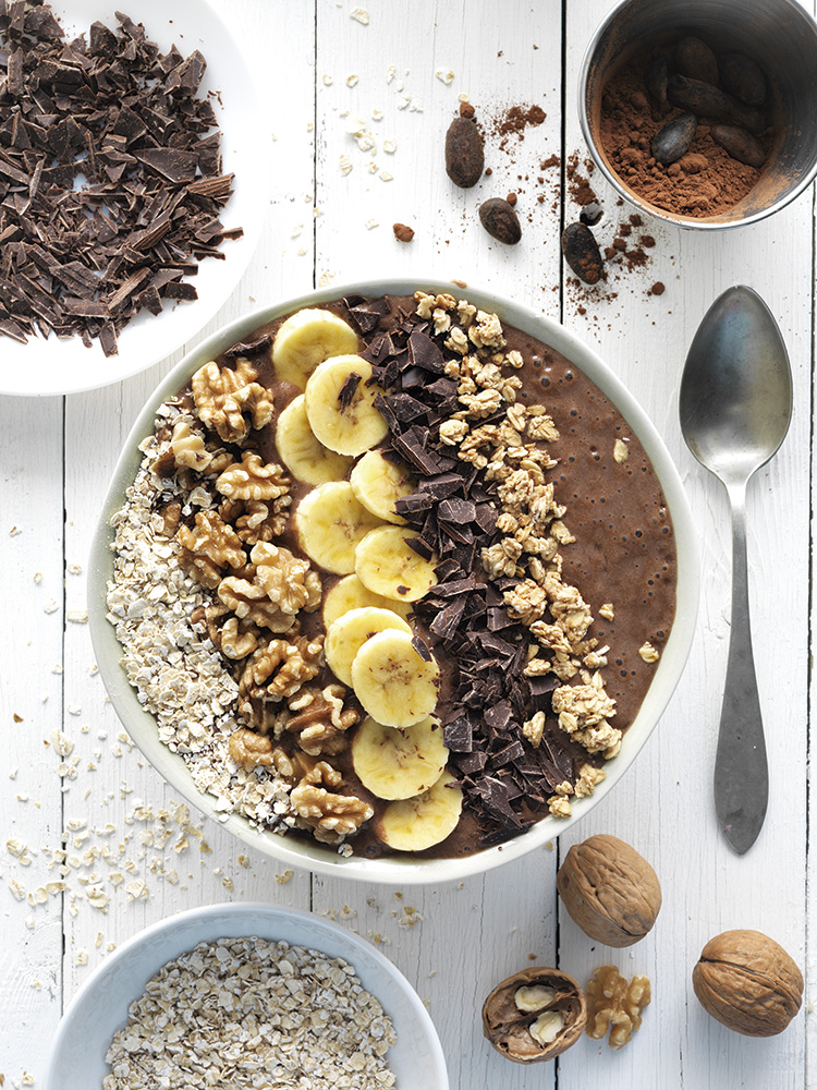 Choco smoothie bowl
