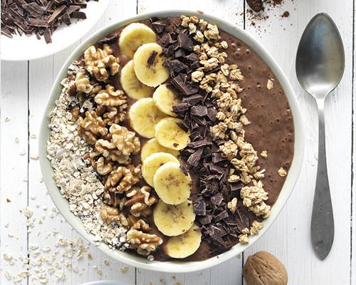 Choco smoothie bol