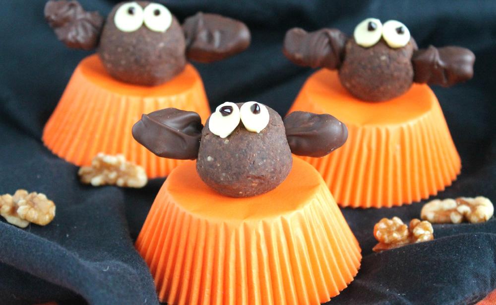 Murciélagos de nueces y chocolate